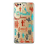 For Ultra Thin Pattern Case Back Cover Case Word Phrase Soft TPU for Huawei P10 Plus  P10  P9 P9 Lite