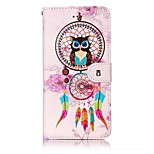 For iPhone 7 7 Plus Case Cover Card Holder Wallet Embossed Pattern Full Body Case Dream Catcher Hard PU Leather for iPhone 6s 6 Plus 6S 6 SE 5S 5