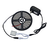 Jiawen 5m 5050-SMD Warm White or Cool white  LED Light Strip w/ Metal Touch Dimmer Switch