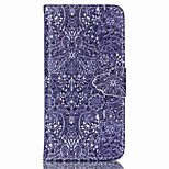 For Apple iPhone 6s plus 6plus 6s 6 5 5s se Case Cover Card Holder Wallet with Stand Flip Pattern Full Body Case Flower Hard PU Leather