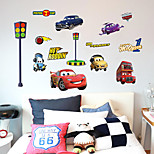 Cartoon Cars 2 Lightning Mcqueen Wall Stickers DIY Children's Room Wall Stickers