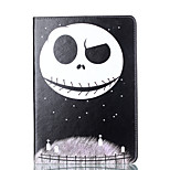 For Apple iPad 4 3 2 Case Cover Cartoon Pattern Card Stent PU Material Flat Protection Shell
