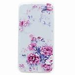 For LG K10 K8 G6 Case Cover Translucent Pattern Back Cover Case Flower Soft TPU for LG V20 X Power