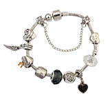 European And American Fashion Punk Wind Peach Heart Bracelet