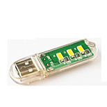 1pcs mini usb 3led light night light
