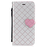 For Apple iPhone 7 Plus 7 PU Leather Material Love Stitching Color Phone Case 6s Plus 6 Plus 6s 6