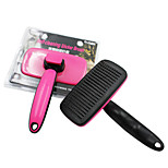 Cat Dog Self-Clean Grooming Hair Comb Deshedder for  Pet Dogs and Cats