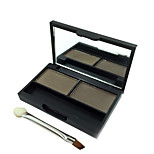 2 Colors Long-Lasting Eyebrow Powder Palette Eye Brow Enhancer With Mirror And Brush 8G Eye Makeup Brand Hengfang