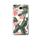 Pour Etuis coque Brassard Motif Coque Arrière Coque Fleur Flexible PUT pour Huawei Huawei Mate 9 Huawei Mate 8 Huawei Mate 7