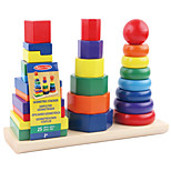 Building Blocks For Gift  Building Blocks Model & Building Toy Circular Square Cylindrical 2 to 4 Years 5 to 7 Years 8 to 13 Years Toys