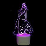 1 PC שמע Bluetooth כלי בית ומתנות חמישה צבעים מקוריות המופעל ידית שליטת 3D מנורת הלילה