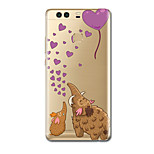 For Ultra Thin Pattern Case Back Cover Case Cartoon Soft TPU for Huawei P10 Plus  P10 P9  P9 Lite  P9 Plus