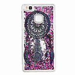 For Huawei P9 Lite Huawei P8 Lite Flowing Liquid Pattern Case Back Cover Case Dream Catcher Soft TPU