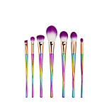 7pcs Contour Brush Makeup Brush Set Blush Brush Eyeshadow Brush Concealer Brush Powder Brush Foundation Brush Synthetic HairProfessional