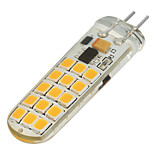 G4 Luces LED de Doble Pin T 30 SMD 2835 200-300 lm Blanco Cálido Blanco Fresco Regulable V 1 pieza
