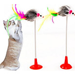 Cat Toy Pet Toys Interactive Teaser Durable Fabric Plastic