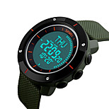 SKMEI 1216 Men's Woman Watch Double Significant Outdoor Sports Watch Mountain Climbing Waterproof Electronic Compas Male LED Students Multi - Function