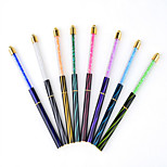 1PC Nail Art tool The Cat's Eye A Pencil Paint Pen With Drill Phototherapy Pen Nails Coloured Drawing Or Pattern 8 Paragraph