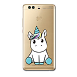 For Case Cover Ultra Thin Pattern Back Cover Case Unicorn Soft TPU for Huawei P10 Plus P10 P9  P9 Lite