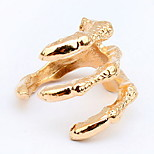 Euramerican  Fashion And Personality Gold Clutches Ring Statement Halloween  Jewelry