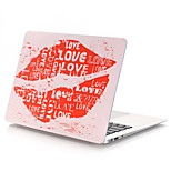 Oil Painting Lips Pattern MacBook Case For MacBook Air11/13 Pro13/15 Pro with Retina13/15 MacBook12