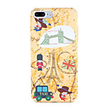 For Apple iPhone 7 7Plus Pattern Case Back Cover Case Cartoon Eiffel Tower Hard PC 6s plus 6 plus 6s 6