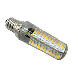 5W E14 E12 E17 BA15D Luces LED de Doble Pin T 80 SMD 4014 400-500 lm Blanco Cálido Blanco Fresco Regulable AC 100-240 V 1 pieza