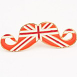 Euramerican Fashion Alloy Sexy Metal Moustache Selling Fashionable Joker Long Opening Ring
