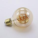 4W E27 LED-hehkulamput G80 1 COB 400 lm Lämmin valkoinen Himmennettävä Koristeltu AC 220-240 V 1 kpl