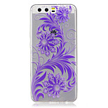 For  Huawei P10 Lite P10 IMD Transparent Case Back Cover Case Ombre Flowers Soft TPU for P9 P9 Lite  P8 Lite