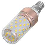 Marsing  E14 12W 1200lm 60-2835 SMD Warm White Light LED Bulb(1PCS)