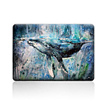For MacBook Air 11 13/Pro13 15/Pro with Retina13 15/MacBook12 Whale Described Apple Laptop Case