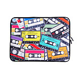 For MacBook Air / Pro / Retina 13 inch Universal Laptop Sleeves Oil Painting Magnetic Tape Pattern Canvas Material