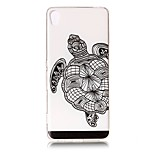 For Sony Xperia XZ Premium XA Case Cover Tortoise Pattern Painted Relief High Penetration TPU Material Phone Case XA1 E5