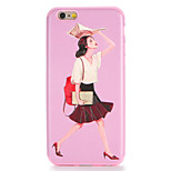 For Apple iPhone 7 7Plus Case Cover Pattern Back Cover Case  Sexy Lady Soft TPU 6s Plus 6 Plus 6s 6