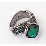 Korean Style Vintage Elegant Rhinestone Daily Ring Movie Jewelry