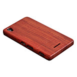 CORNMI For Sony Sony Xperia T3 Case Rose Wood Case Walnut Wooden Shell Hard Back Cover