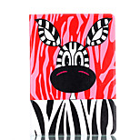 For Apple iPad Pro 9.7'' iPad 5 iPad 6 Case Cover Cartoon Animals Pattern Card Stent PU Material Flat Protection Shell