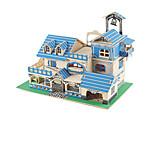 Rompecabezas Puzzles 3D Bloques de construcción Juguetes de bricolaje Edificio Famoso Madera Modelismo y Construcción