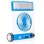 New Multi-Function LED Desk Lamp Mini Fan USB Solar Rechargeable Fan Outdoor Camping Lamp