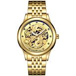 Tevise Men's Women's Couple's Sport Watch Skeleton Watch Fashion Watch Mechanical Watch Quartz Automatic self-windingCalendar Water