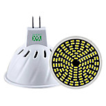 5W GU10 GU5.3(MR16) Focos LED MR16 128 SMD 3014 400-500 lm Blanco Cálido Blanco Fresco Blanco Natural Regulable Decorativa AC 100-240 V1
