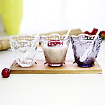 Color novedad drinkware 200ml novio regalo novia regalo vidrio cerveza jugo vidrio