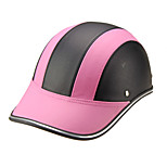 Motor Helmet Baseball Cap Style Safety Hard Hat Anti-UV  Pink Black