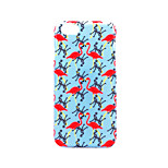 For Apple iPhone 7 Plus iPhone 7 iPhone 6s Plus iPhone 6 Plus iPhone 6s Frosted Embossed Pattern Case Back Cover Case Flamingo Hard PC for Apple