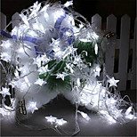 6W W String Lights 7 lm AC220 10 m 100 leds Warm White White RGB