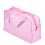 1Pcs Graceful Portable Waterproof Makeup Cosmetic Toiletry Travel Wash Toothbrush Pouch Organizer Cosmetic Bag Color Random