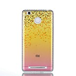 For Xiaomi Redmi 4a Note 4 Rhinestone IMD Translucent Flowers Pattern Back Cover Case Hard PC Note 4X