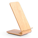 Fast Wireless Charger  Wooden Bracket for S6 / S6 edge / S6 edge plus / S7 / S7 edge /  Note5/ S8/ S8 PLUS Or Other Built-in Qi Receiver Smart Phone