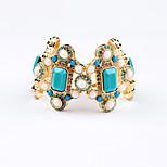 Women's Chain Bracelet Jewelry Friendship Fashion Alloy Geometric Blue Jewelry For Birthday Gift Valentine 1pc